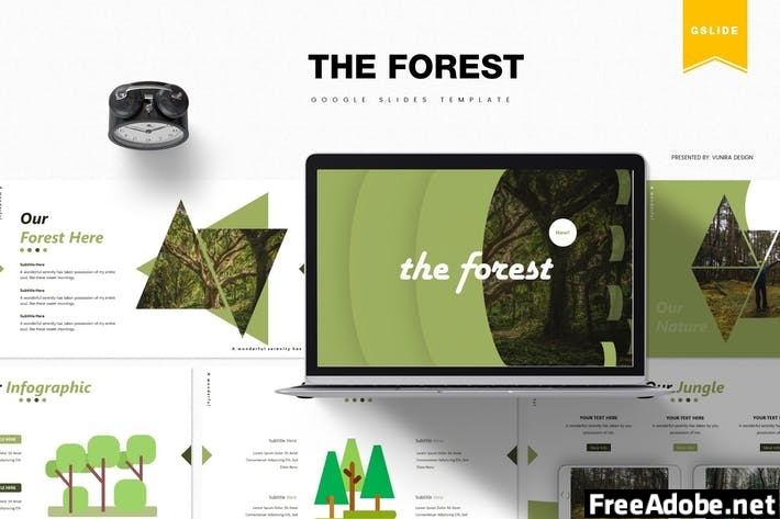 The Forest | Google Slides Template 7DGSUYV