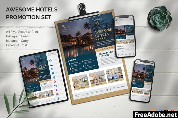 Awesome Hotels - Promotion Set YSQ98VK