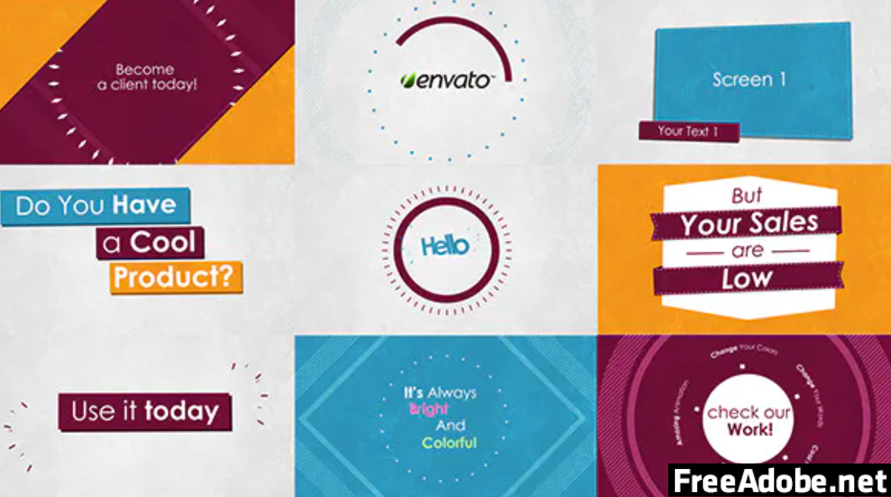 Product Promo Video Template V2UECRD